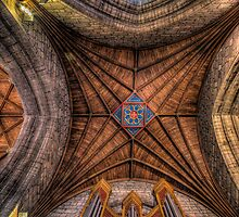 Cathedral Ceiling  by Adrian Evans