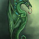 Green Wyrm by Anuviel