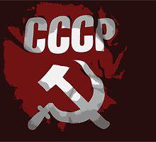 CCCP FLAG LOGO by SofiaYoushi