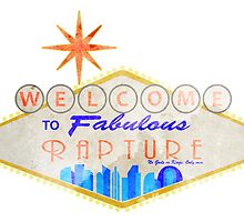 Welcome to Rapture 1 - Print by Adam Angold