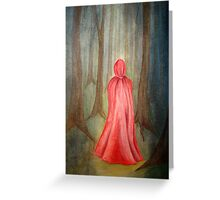 Going Alone Greeting Card