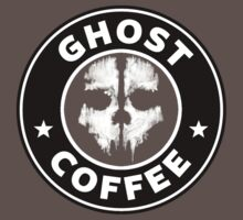 Ghost Coffee by Ramiartdesigns
