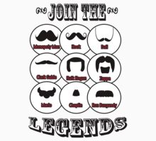 The Mustache Legends: Mustache November 2013 by twistedpainter
