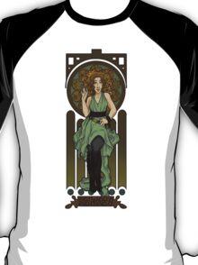 Dr. Who Art Nouveau-River Song T-Shirt