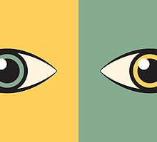 pair of eyes by kislev