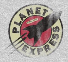 Planet Express ESTD. Shirt by danspy1994
