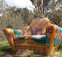 Community Sculpture Pinjarra by kalaryder