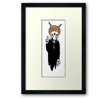 The Goat Priest Framed Print