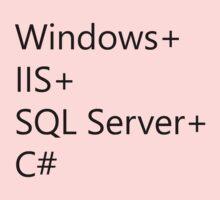 WISC - Windows IIS SQL Server C# Kids Clothes