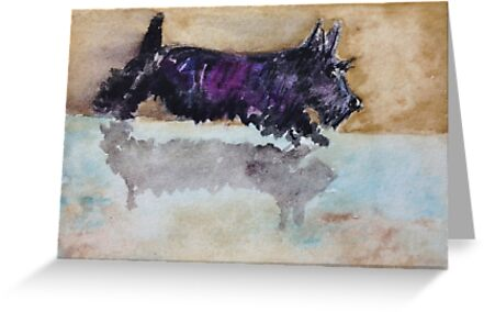 Scottie Dog Reflection by archyscottie