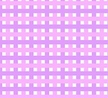 Linda textura con lineas Rosas by newcris