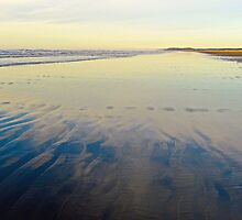 Washington Beach Reflections by Robert Meyers-Lussier