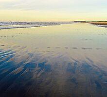 Washington Beach Reflections by Robert Meyers-Lussier