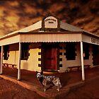 Birdsville Hotel by Cliff Vestergaard