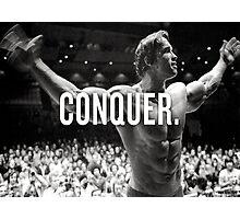 Conquer Photographic Print