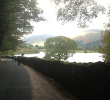 Grasmere Lake in Autumn by GeorgeOne