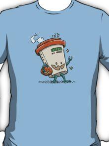 Pumpkin Spice Latte Bot T-Shirt