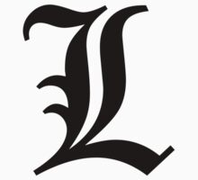 "The Symbol of ""L"" in Death note by versson"