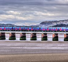 Arnside Viaduct by inkedsandra