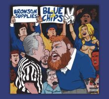 Action Bronson - Blue Chips 2 - Album Cover by GoIdie