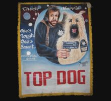 'Top Dog' Chuck Norris by GarfunkelArt