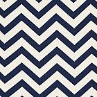 ZigZag Nautical Blue by SamanthaMirosch