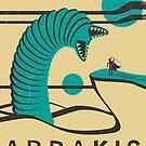 Arrakis Travel Poster by JazzberryBlue