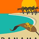 Panama Travel Poster by JazzberryBlue