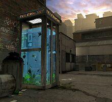 Phone Booth by Cynthia Decker