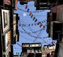 Prayer Flags by Cynthia Decker