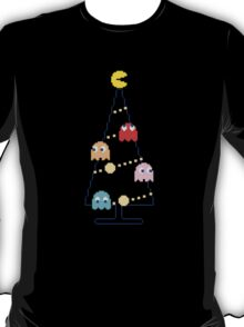 Arcade Retro Christmas Tree of Old Skool Gaming T-Shirt