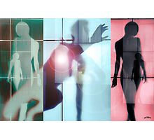Body Language 7 Photographic Print
