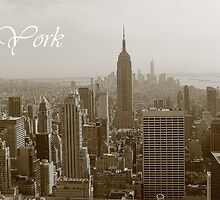 New York Skyline by markreynold