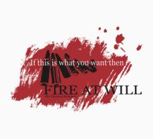Fire at will-MCR by Common Spring
