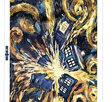 Exploding TARDIS by jport96