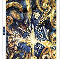 Exploding TARDIS by jport96