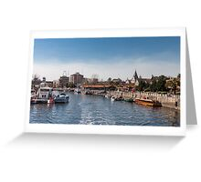 Tigre - Buenos Aires (Argentina) Bis Greeting Card