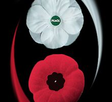 POPPIES ~ PEACE & REMEMBRANCE GO TOGETHER UNITED WE STAND PICTURE/CARD by ╰⊰✿ℒᵒᶹᵉ Bonita✿⊱╮ Lalonde✿⊱╮