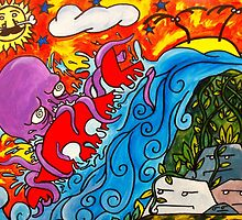CRB vs Greedy Octopus 2 by CRBArt