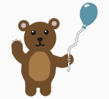 Bear with Balloon Kids Clothes