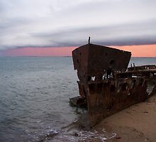 Gayundah Ship Wreck, Woody Point QLD by Gillian Ingersole