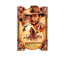 Indiana Jones and The Last Crusade Movie Poster Photographic Print