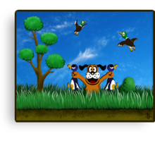 Duck Hunt! Canvas Print