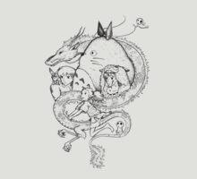 Miyazaki mash up by Joe Dragunas