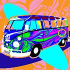 Hippie Bus by FinlayMcNevin