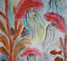 Jellyfish and Friends by Kate Delancel Schultz