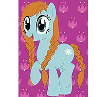 Pony Anna Photographic Print