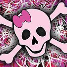 Pink Skull by Roseanne Jones