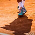 Rafael Nadal in Color by nadalnews