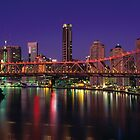 Story Bridge Brisbane Queensland by Dean Prowd Panoramic Photography